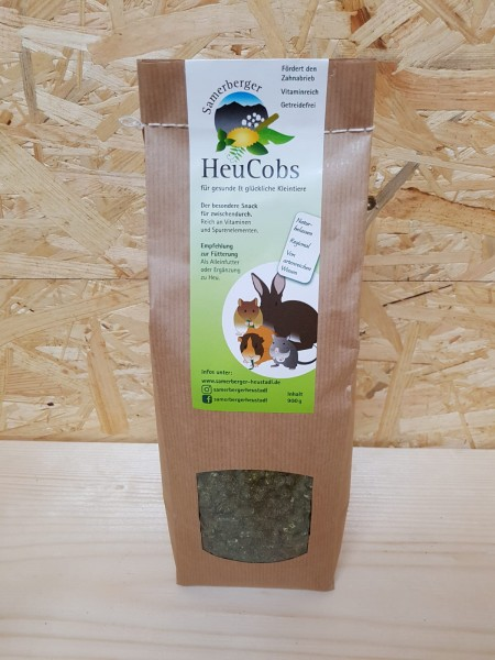 Samerberger Heucobs im 900 g Papierbeutel